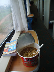 Train breakfast by grumbler (Flickr Stream)