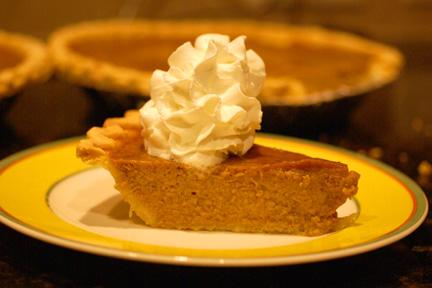 Gluten Free Pumpkin Pie 6 web