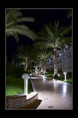 Footpath (Bashed) Tags: trees light holiday night geotagged hotel nikon shiny zoom path sharmelsheikh palm pathway polished sharm lightroom d300 18200mmf3556gvr nikkor18200vr  sharmalshaykh nikkor18200ged neilmallett2008 geo:lat=27974898 geo:lon=34422143