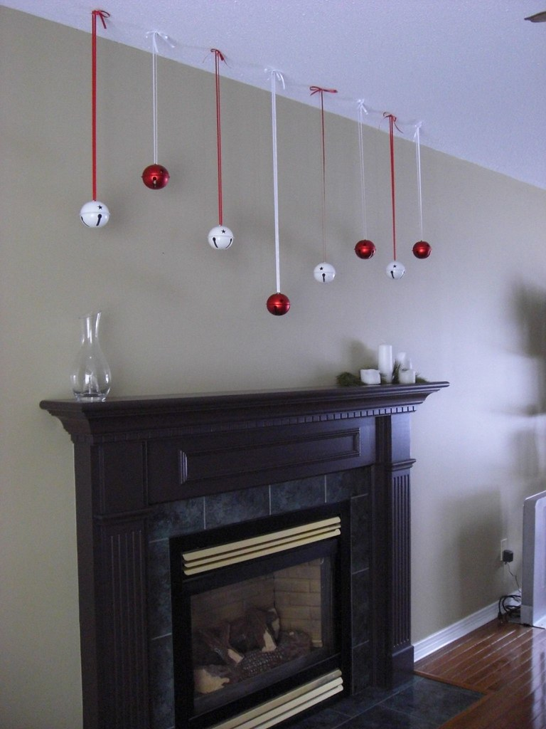 dingle balls on top of the mantle