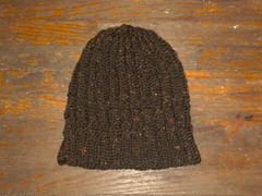 Cabled Ribby Hat