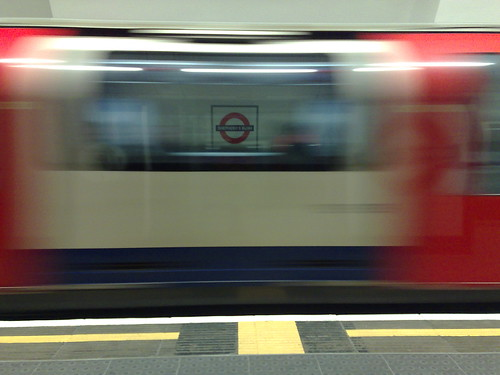 Central Line by Mark Hillary