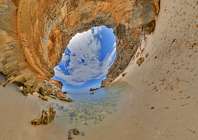 Beaches: St Pauls Beach 4 Sorrento Vic Stereographic