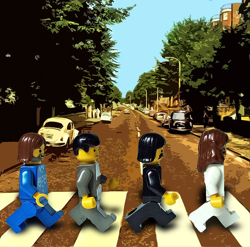 abbey road lego