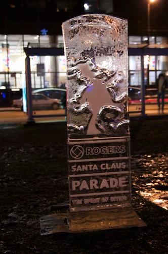 Santa Claus Parade on Ice