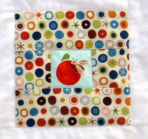 quilt top c bug square
