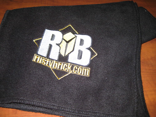 RustyBrick Fleece Scarf