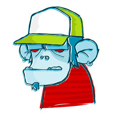 monotron (mareaneus) Tags: color art illustration digital photoshop design sketch arte drawings monkeys characters illustrator dibujos diseo vector draws ilustracion paints vectorial ilustraciones personajes monos