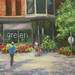 """Green in Old Town"" by Leslie Outten"