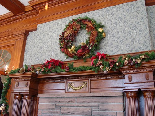 The Stanley Hotel Lobby @ Christmas Time