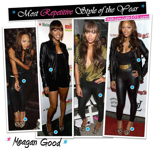 most repetitive - meagan good by you.