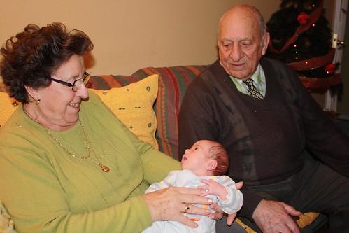 Os bisavós e a L