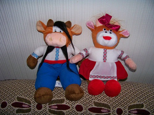 Our Ukrainian year of the cow couple