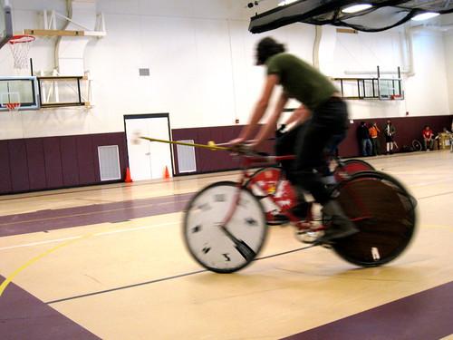 bike polo at goodman center