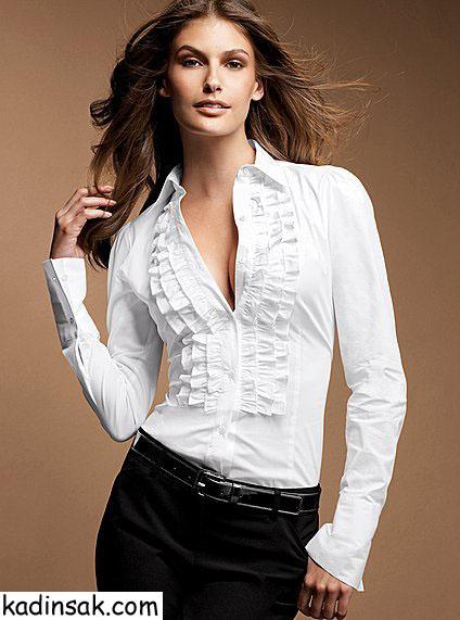 kadın gömlekleri