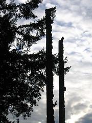 UVic totem poles