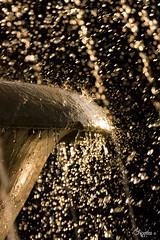 Splash of gold (chipotles) Tags: italy rome roma water fountain canon eos gold tivoli drops italia splash digitalrebel acqua fontana lazio oro xsi gocce spruzzi chipotles goccioline 450d goldstaraward silviadelvecchio