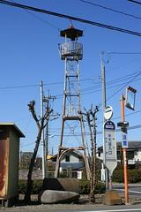 駒形の火の見櫓(瑞穂町)