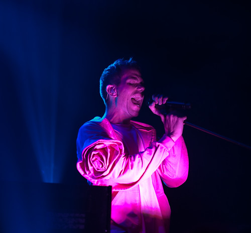 Julian Hamilton of the Presets