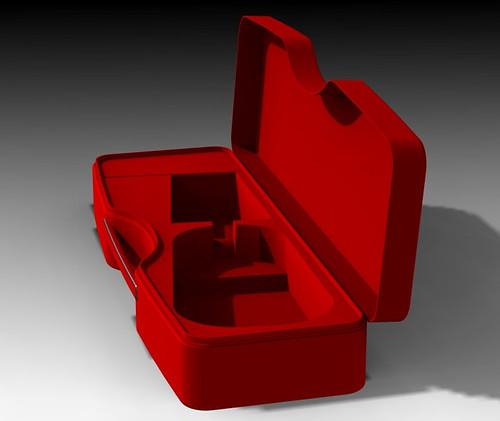 Calder REd violin op down