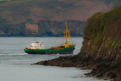 Nouvelle campagne de pche (Erminig Gwenn) Tags: morning cruise sea mer port boat bed b