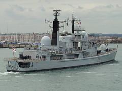 HMS Gloucester (D96)  - Type 42 Destroyer (andyc20050) Tags: boat ship harbour hampshire destroyer solent portsmouth warship royalnavy hmsgloucester type42 d96 vosperthorneycroft fightingg