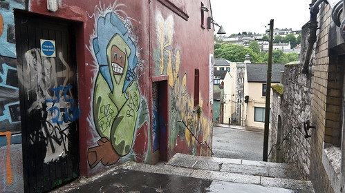 Cork - Street Art And Graffiti ( Kinlay House)