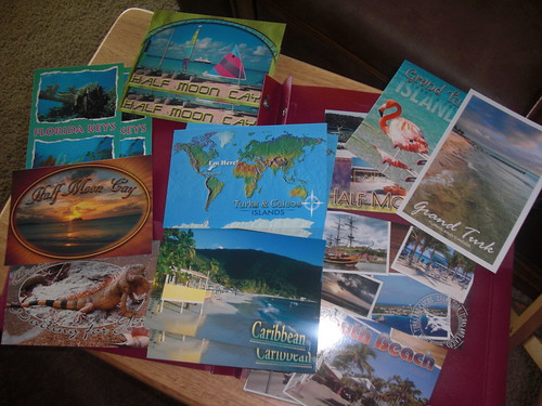 all my new postcards