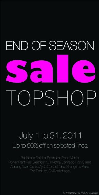 robinson's sale