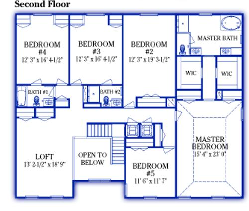 Rochester M Floor Plan Maronda Homes Loaded with Upgrades New