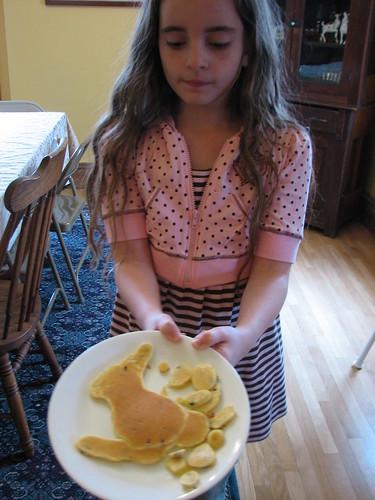 Easter pancakes
