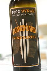 2003 Longboard Vineyards Russian River Valley Syrah