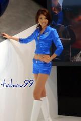 Subaru Girl in Tokyo Motor Show 2007 (_takau99) Tags: auto show november blue portrait woman hot cute sexy bunny girl beautiful beauty smile topv111 japan lady female booth asian lumix japanese tokyo model topv555 topv333 asia pretty fuji topv1111 topv999 topv444 young babe topv222 panasonic chiba subaru 日本 東京 topv777 motor lovely messe topv666 2007 makuhari topv888 boothbabe fx30 boothbunny takau99 dmcfx30 fujijuko