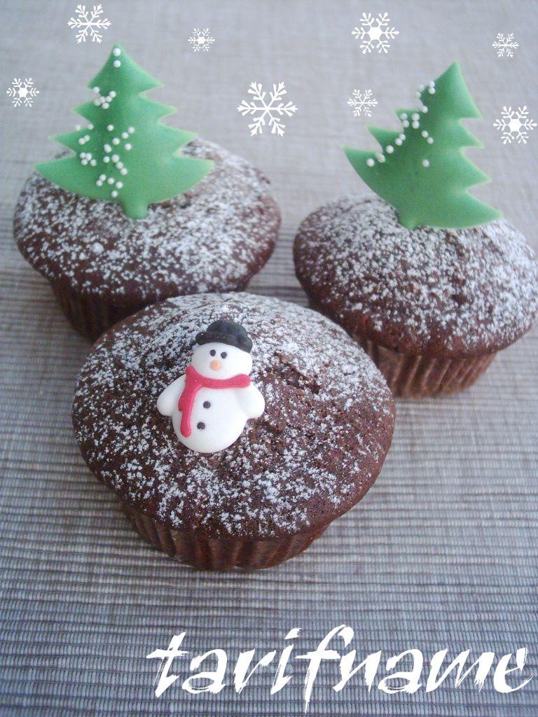 kakaolu visneli muffinler