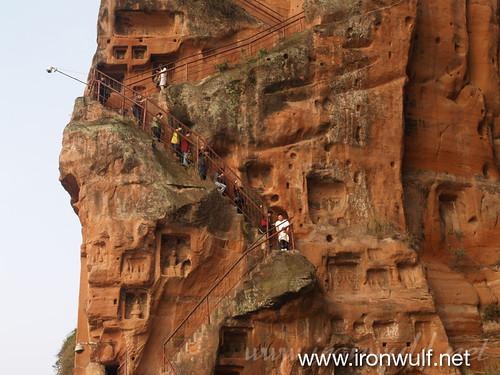 Leshan Giant Buddha Cliff Trail