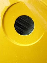 Peril (robep) Tags: uk cambridge england yellow circle vent cherrypicker maintenance intake