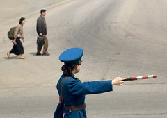 Pyongyang North Korea (Eric Lafforgue) Tags: pictures street travel woman girl asian soldier army photo women war asia military picture police korea kimjongil asie coree journalist militaire soldat journalists northkorea armee  dprk coreadelnorte juche kimilsung nordkorea lafforgue  ericlafforgue   coredunord coreadelnord  northcorea coreedunord rdpc  insidenorthkorea  rpdc   coriadonorte  kimjongun coreiadonorte