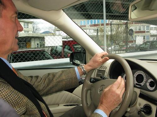 Eric, sa Mercedes et sa Rolex