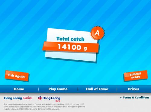 14,100 Score!