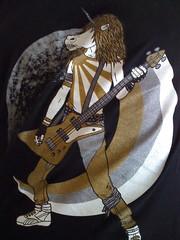 Hardcore Unicorn Metal Guitarist