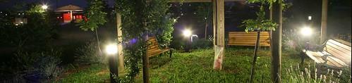 Gazebo at Night - Alba Village Hotel