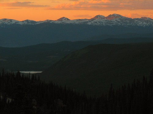 Hoosier Pass Sunset