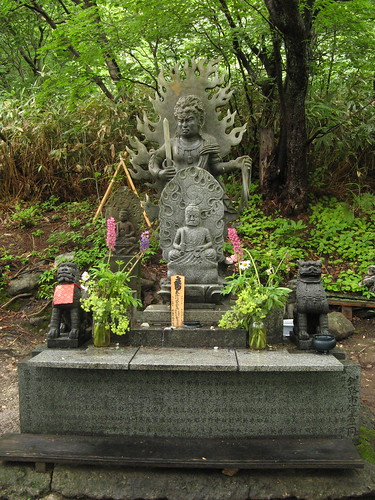 Small shrine above Osorezan
