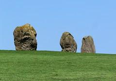 Jungsteinzeitliche Steine auf Newgrange