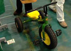 ジョンディアの三輪車
