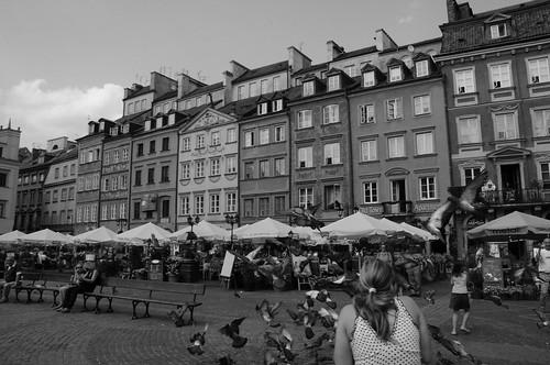 Warsaw by Kamil Porembiński.