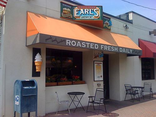 Earl's Sandwich shop on Wilson Blvd in Arlington, VA - Taken With An iPhone