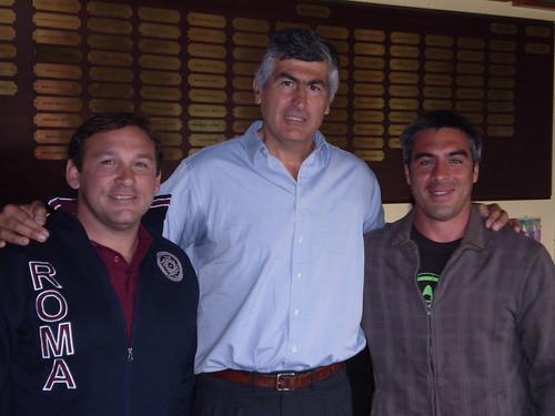 Tinari con Rubio e Camardon