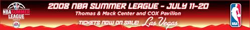 Logo Las Vegas Summerleague 2008