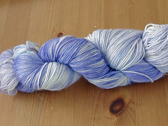 Handpainted sock yarn
